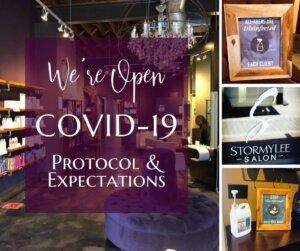 Covid Protocol   StormyLee Salon